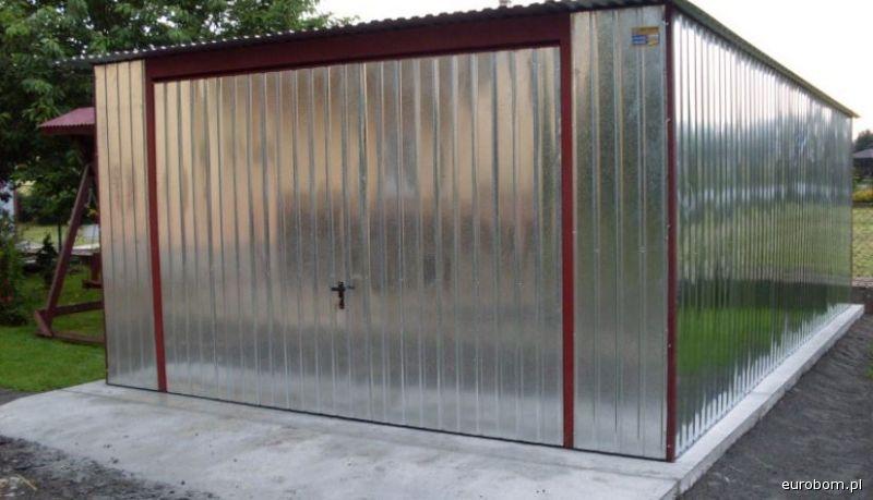 Garaż Blaszany Ocynkowany 4 X 5 Ceny Producenta