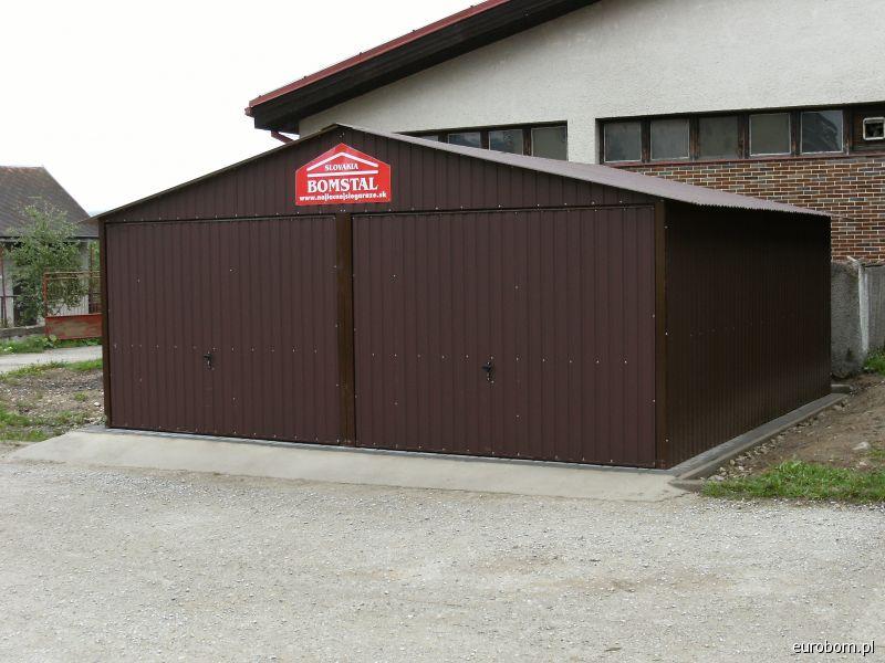 Garaż Podwójny Dwuspadowy 6 X 6 Cennik Producenta Sprawdź